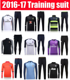 Wholesale thai quality Real madrid psg jerseys Bayern Munich arenal chelsea MancHESTER City soccer Training suit unITED football shirt