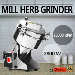 Wholesale 1000G High Speed Electric Herb Coffee Beans Grain Grinder Cereal Mill Flour Powder Machine