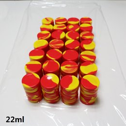 Wholesale High performance silicone container ml OEM silicone jar custom silicone essential oil container