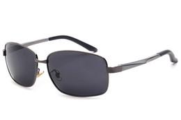 Sunglasses For Men Fashion Mens polarized Sun Glasses High Quality Al-Mg Foot Polar Sunglass Luxury Designer Sunglasses 1L6A1