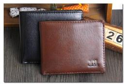 Wholesale Coin Purses Sale - Fashion Sale Brand New Men's PU Leather Wallet Men Wallets Coin Pocket Fashion Short Design Purse 291