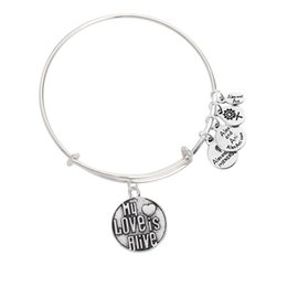 Wholesale 2016 New my love is alive alex and ani charm bracelet bangles cheap fast shipping