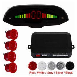 Wholesale Beautiful Linetype Figure Intelligent Digital LED Car Parking Assistance System with Sensors backup radar