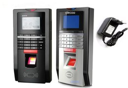 Wholesale ID Door Access Control Password Fingerprint Time Attendance Anti dismantlement Unlock Alarm support English Arabic French Thai