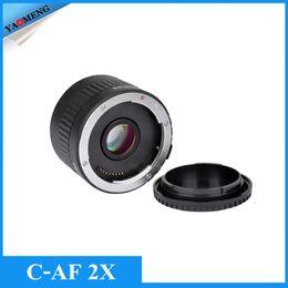 Wholesale Viltrox C AF X Magnification Teleconverter Extender Auto Focus Mount Lens for Canon EOS EF Lens DSLR Camera