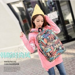 Wholesale 80PCS LJJM87 Korean Mi Flags Leaf Simpson Backpack Fashion Canvas Bags Unisex Men Women Backpack Travel Sport Hiking Bag