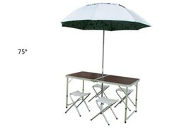 Wholesale good price Outdoor Camping Picnic Garden Sets Folding Tables and Chairs Garden Furniture Set Aluminum Alloy