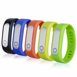 Wholesale 100 Original high quality Fitness Smart Sport Bluetooth Bracelet Pedometer Steps Tracker Sleep Moniter Alarm Clock for IOS Android Phon
