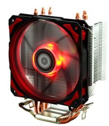 Original new ID-COOLING 1 12cm PWM fan 4 heatpipes CPU cooler SE-214 for multi-platform LGA115X & LGA77 & AMD all