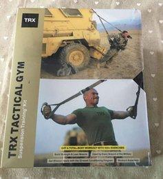 Wholesale TRX Tactical Gym Suspension Training Kit T4