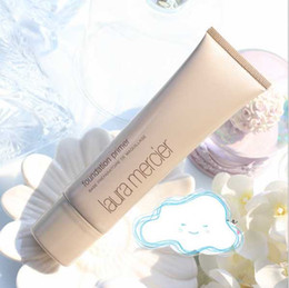 Factory Price!!!Makeup Laura Mercier Foundation Primer Hydrating  mineral  oil free Base 50ml 4styles High Quality Face Makeup natural