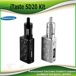 Authentic Innokin iTaste SD20 starter Kit 20W Evolv DNA 20 Chipset DNA20 Box Mod 2000mAh with 4.5ML Prism T22 Tank 100% genuine 2201062