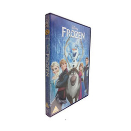 Wholesale Hot sell top quality Disney s Frozen Sealed DVD English and UK version Hungarian Polish Baby Gift DHL for free