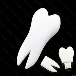 100% real capacity tooth shape usb flash drives 1GB 4GB 8GB 16GB 2GB Memory USB Flash 2.0 Memory Drive Stick Pen ThumbDrives