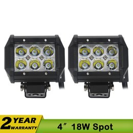 Wholesale 4 Inch W Cree Led Work Light V Led Tractor Work Lights OFF ROAD X4 ATV UTV SUV Driving Fog Lamp Headlight