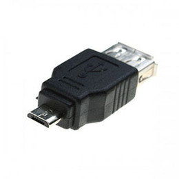Wholesale USB A Female to Micro USB B Pin male F M Converter cable Adapter