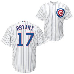 Wholesale 17 kris bryant david ross jake arrieta chicago cubs baseball jersey mens stitched and embroidery logos