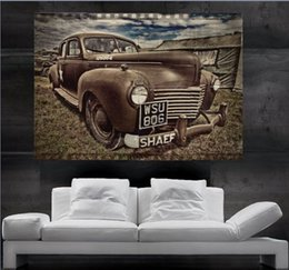 Wholesale Antique car historic Chrysler sheriff Poster print wall art parts giant Poster print art huge giant photo No13