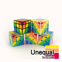Wholesale 3x3 Magic Cube Classic Toys Puzzle Magic Game Toy Adult and Children Educational Toys x3x3 Unequal Magic Cube kids gifts P C73