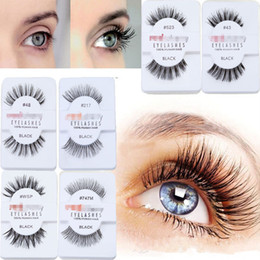 12 Pairs Box Red, Cherry False Eyelashes Natural Long Fake Lashes Black Cilia False Eye Lashes Extension Professional Brand Makeup