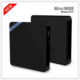 2016 New Mini M8S TV Box 4K 1080HD Amlogic S905 Android TV Box HDMI WiFi Bluetooth 2GB+8GB Set Top TV Box