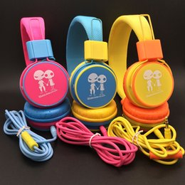 Wholesale Baby Headphones Headband Massive Sound With Mic COLOR Headphones Good Quality Way Of The Audition Perfection Tone QUality Good Voice Fashion