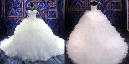 2016 Luxury Beaded Embroidery Bridal Gown Princess Sweetheart Corset Organza Ball Gown Wedding Dresses Plus Size Lace Bridal Gowns