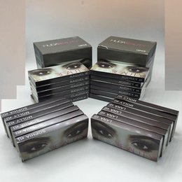 Wholesale Huda Beauty False Eyelashes Messy Cross Thick Natural Fake Eye Lashes Professional Makeup Beauty