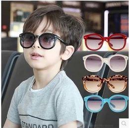 Wholesale hot selling Authentic Han Guochao children sunglasses male children baby girls uv protection glasses sunglasses kids glasses