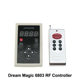 Wholesale Best price Controller RF Key Controller Programs for LPD6803 Strip Dream Color Magic Color Strip RGB SMD Light DC12V