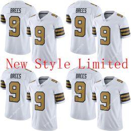 Wholesale Good quality Hot Newest Limited NIK E Saints Drew Brees Stitched Embroidery Logos America Football Jerseys Sweatshirts Uniforms