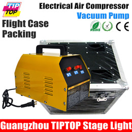 Wholesale TIPTOP Stage Lighting Confetti Machine Air Compressor Confetti Cannon Gas Tank China Supplier Electrical Hand Control Gas in out