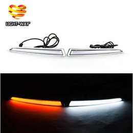 Wholesale Turn Signal Light and turn off Relay V GUIDE LED CAR DRL Daytime Running light accessories for FORD Kuga Escape