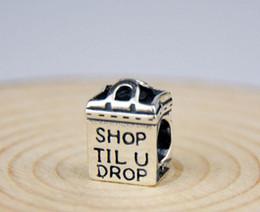 6 * 8 * 11mm Bracelets européens 925 Argent Shop Design Charms Perles Fit pour 2016 Fashion Style AMOUR Pendentif Charm bricolage à partir de boutiques de charme fournisseurs