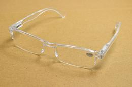 20Pcs lot New Retro Transparent Clear Ultra-light Reading Glasses Plastic Rimless Presbyopia For Women Men Free Shipping
