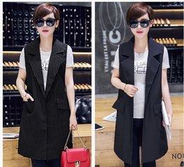 Wholesale In the new long tank top coat loose suit vest