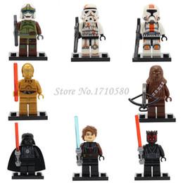 Wholesale Star Wars Minifigures XINH Darth Vader Anakin Skywalker Starwars Building Blocks Sets Model Toys For Children