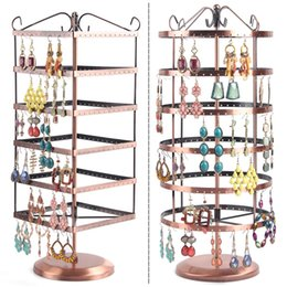 Post rotation Earrings frame Earrings frame European jewelry jewelry display props jewelry counter display props