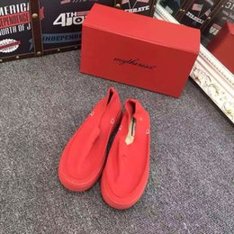 Wholesale Germany tide brand my theresa Thick sole of shoes car really shoes Tai Chi Lok Fu shoes genuine leather