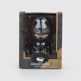 Batman v Superman: Dawn of Justice Batman 14cm LED Light Action Figures Toys Dolls For Kids Gift