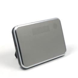 Wholesale Wifi HD1080P Spy Camera Clock Mirror Clock Camera Mobile Computer Smart Control DV Motion Detection Hidden Camcorder DVR Clock