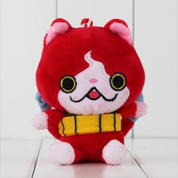 11cm Anime Yo-Kai Watch Busters Cat Plush Soft Stuffed Doll Toy for kids children gift toy free shipping EMS