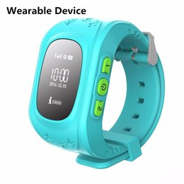 Wholesale China fashion wearable device with app control cheap kids gps watch for gprs lbs location tracking smart watch OEM