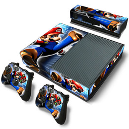 Wholesale 3styles Super Mary For XBOX ONE Console and for xbox one controller game sticker decal sticker for sale