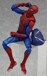15CM Spider-Man Figma Action figure Movable action figures model gift for kids decoration model toys for children