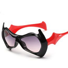 Wholesale Batman sunglasses Colored sunglasses anti sunburn for alleviating eye fatigue