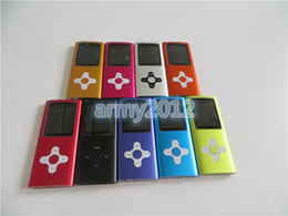 Wholesale 1 inch th GEN mp3 mp4 player built in gb memory WITH FM radio ebooker games colors with accessories BOX