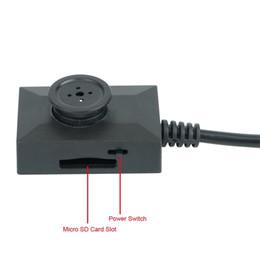 Descuento línea de hd 32GB HD 1280x960P Super Mini encubierta botón video de la cámara 7dias 24 horas con 2 metros de la línea de Vigilancia DVR videocámara portátil