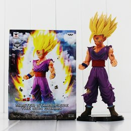 Wholesale Gohan Figura Dragon Ball Z Master Stars Piece MSP The Son Gohan PVC Action Figure Toy Collectable Model Doll