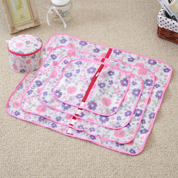 Wholesale Set Of Large Mesh Laundry Bags Baskets Household Cleaning Tools Bulk Accessories Supplies Gear Stuff Products